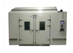 China Humidity 30%-98% Salt Spray Test Chamber , LED Display Walk In Environmental Chamber on sale