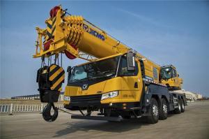 China 55 Ton Boom Truck Crane , XCT55L6 XCMG 6 - Section Boom Hydraulic Crane on sale