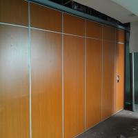 China School Classroom High Quality Soundproof Sliding Folding Plywood For Partition Wall Board on sale