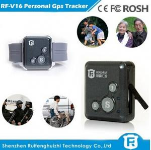 China Low cost mini chip child gps tracker bracelet for persons and pets reachfar rf-v16 on sale