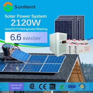 China 3000W  Solar Home System Power Inverter Pure Sine Wave Battery Power Supply Solar Power System on sale