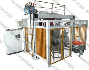 China 2 Manipulators Low Pressure Die Casting Machine For Brass / Zinc Alloy Products on sale