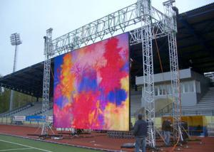 China Constant Current P10 Outdoor Rental LED Screen , Horizontal Scrolling LED Display on sale