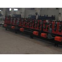 High Strength Steel Plate C Z Purlin Roll Forming Machine Auto Changeable