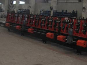China High Strength Steel Plate C Z Purlin Roll Forming Machine Auto Changeable on sale