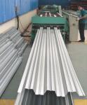 Galvanized Corrugated Steel Roofing Sheets / Floor Deck For Muti - Floor Buildings