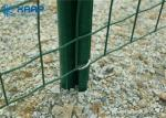 Q195 Iron Wire Galvanised Steel Mesh , Stretching Welded Wire Fence Anti Rust