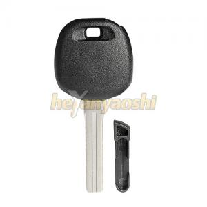 China TOY48 Blade Spare Car Key , Customized Design Toyota Car Key Carbon Chip on sale