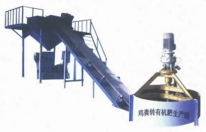 China Organic Fertilizer Pelleting Production Line, suitable for feces, straw organic manure or fodder pelleting on sale