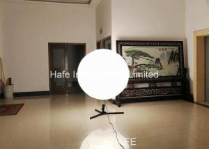 China Events Led Balloon Lights , Inflatable Lighting Decoration With 2x1000W Halogen Lamp on sale