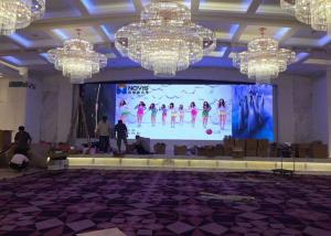 China P4 Full Color Advertising LED Screens , HD LED Video Display Board Energy Saving on sale