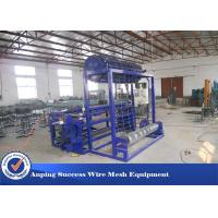 China Hinge Joint Knot Weaving Grassland Fence Machine 45 Row / Min Efficiency on sale