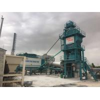 China Variable Frequency Feeding Belt Mobile Asphalt Batch Mixing Plant 120 Ton Output Mobile on sale