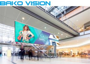 China High Resolution Indoor Led Advertising Screen Media Rental / Fixed LED Display on sale