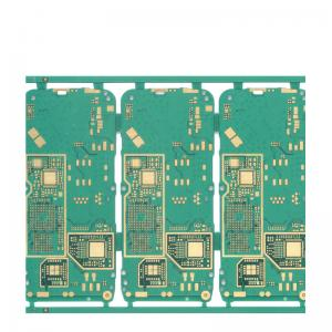 China Impedance Control Electronic PCB Board 4 Layer Quick Turn Peelable Mask 1.6mm FR4 on sale