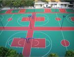 Resurface Basketball Sport Court For Table Tennis , Outdoor Rubber Basketball Flooring