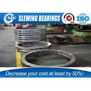 China Wind Turbines Pitch  Slewing Ring Bearings Raceway Diamete From 100 To 10000mm on sale
