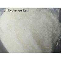 Styrene Ion Exchange Water Treatment Chemicals Strongly Basic Anion Water Purifying