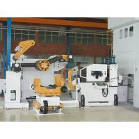 Metal Steel Coil Uncoiler Punching Machine , Pneumatic Feeder Great Performance