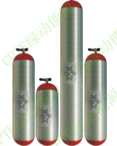 China Type 2 CNG cylinder for vehicle,steel liner wrapped with glass fiber, diameter 325mm, 356mm, 406mm, volume, 65L,75L, on sale