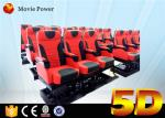 Professional Large 5d Cinema 3 dof Electric Platform Cinema With Special Effect