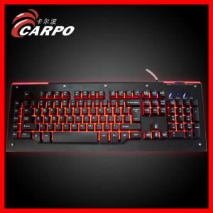 China Gaming Series Backlight Mechanical Keyboard with Cherry Switch on sale