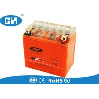 China Maintenance Free 12v Motorbike Battery , Small Gel Cell Motorcycle Battery on sale