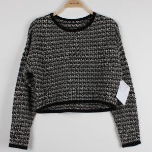 China Spring And Autumn Womens Pullovers Sweaters Loose Knitwear With Ludex on sale