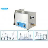 Stainless Steel Tank Ultrasonic Bath Laboratory With Mechanical Heater 500W 30L