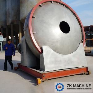 China Low Noise Fertilizer Granulator Machine Small Footprint Convenient Process Layout on sale