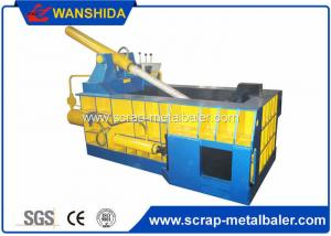 China Copper Wires Scrap Metal Baler Baling Equipment 250 × 250mm Bale Size on sale