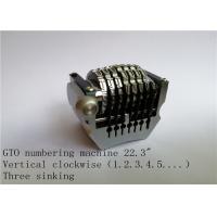 China 22.3 Vertical Rotary Numbering Machine HAMADA MO GTO Numbering Machine on sale