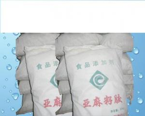 China Linseed gum / Frank glue Thickener on sale