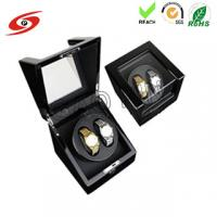 Factory made high quality glossy finish custom Ultra-quiet Motor Wood Automatic watch winder