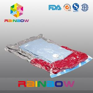 China Nylon PE laminated plastic vacuum storage bag for clothes packaging on sale