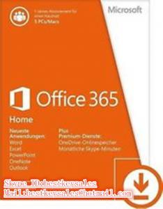 Quality Microsoft Office activation key code for Office 365 Home Premium for 5PC for sale