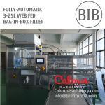 3-25L BIB Water Wine Cider Packaging Equipment Bag in Box Filling Machine