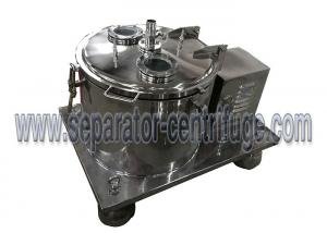 China Ss Basket Centrifuge for Ethanol Washing During Essential Oil Extraction on sale