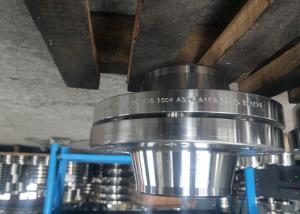 China EN1092-1 Type 01 and 34 stainless steel 316L loose flange with plain collar on sale
