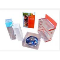 Eco Friendly Clear Plastic Folding Boxes , PVC Box UV Offset Printing