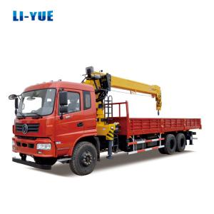 China 10 Tons 12 Tons 16 Tons Crane Truck Construction Machinery Truck Mounted Crane for Sale on sale
