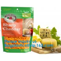 Recycled Eco Friendly Corn Starch Ziplock Stand Up Food Packaging 100% Compostable Biodegradable Plastic Pouch Bag