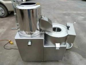 China Integrated Potato Washing Peeling and Cutting Machine on sale