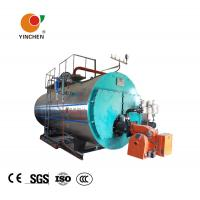 China Low Pressure Steam Boiler 0.3-20 Tons / Horizontal Three Pass Fire Tube Boiler on sale