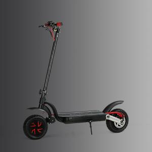 China Portable Folding 2 Wheel Electric scooter Dual Motor With Double Battery 50 km/h 23kg on sale