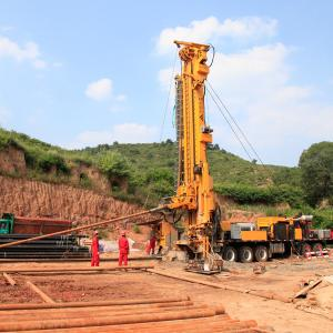 China Truck-mounted Coal Bed Methane Drilling Rig , Water Well Drilling Equipment on sale