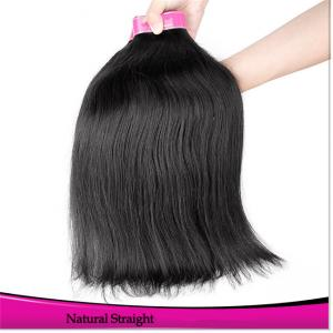 China Brazilian Hair Weave Bundles Wholesale Natural Straight Cheap Full Hair on sale
