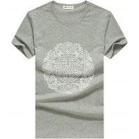 100% cotton short sleeves t shirts for men