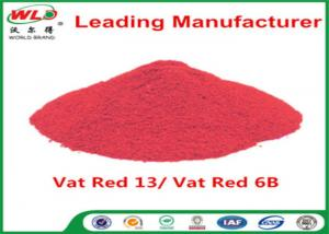 Quality Alkali Resistance Permanent Fabric Dye C I Vat Red 13 Vat Red 6B Dyestuffs for sale