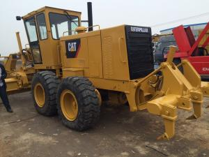China Road Construction Used Motor Grader , Cat 140h Motor Grader 14' Moldboard on sale